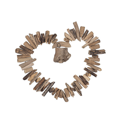 Seashore Heart Wall Art