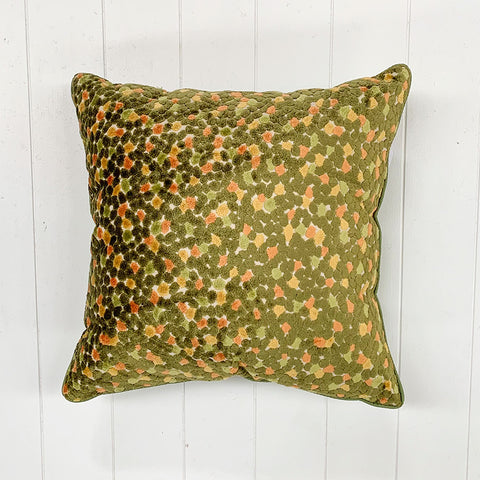 Green Stone Cushion
