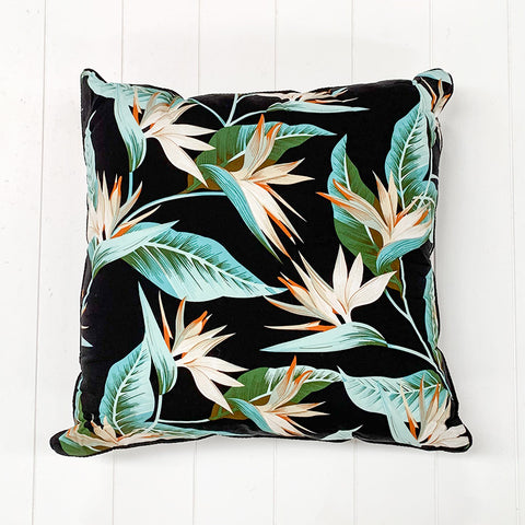 Ice Green Leaf Cushion