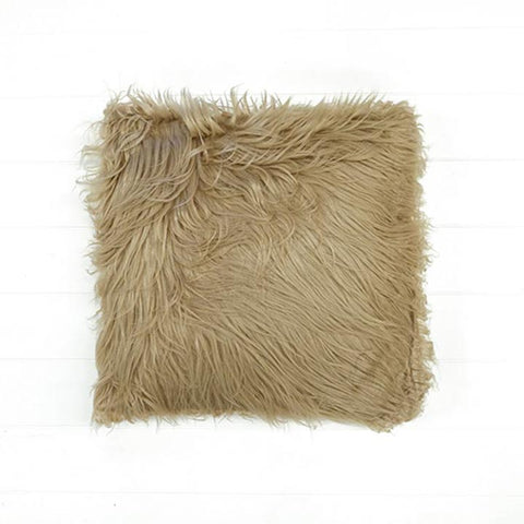 Fur Camel Cushion