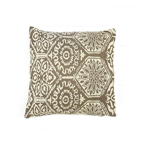 Coffee Ivory Cushion