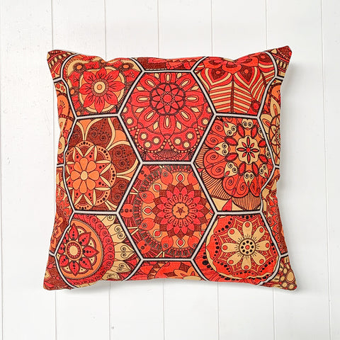 Moroccan Red Cushion
