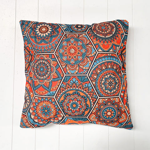 Moroccan Orange Cushion