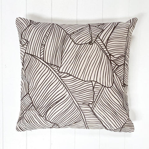 Abstract Leaf Cushion