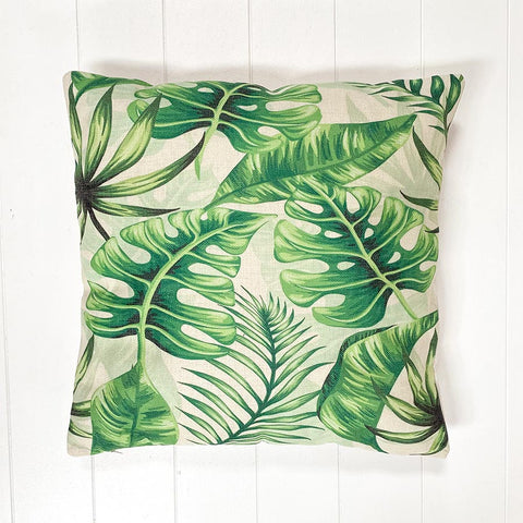 Monstera Water Cushion
