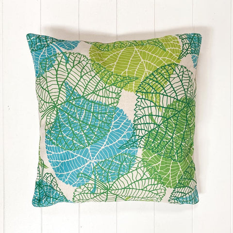 Coral Leaf Cushion