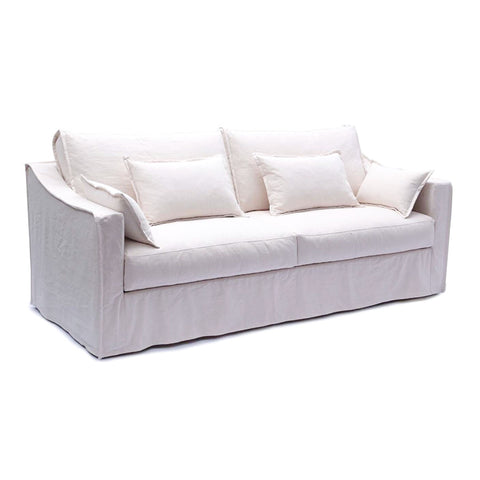 Monet 3 Seater Ivory