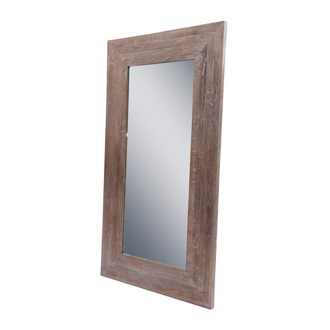 Rustic Recycled Elm Mirror