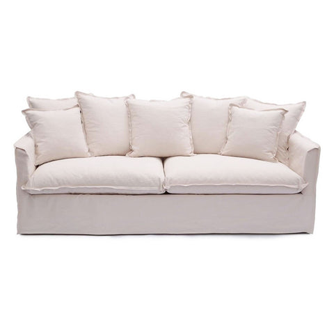 Coco 3 Seater Ivory