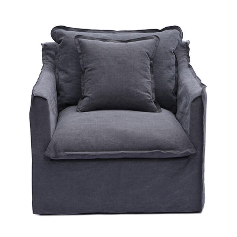 Coco 1 Seater Charcoal