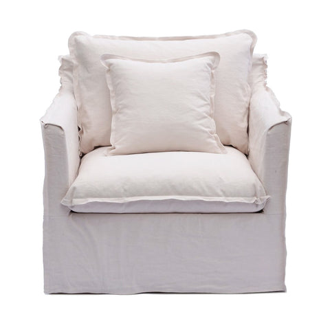 Coco 1 Seater Ivory