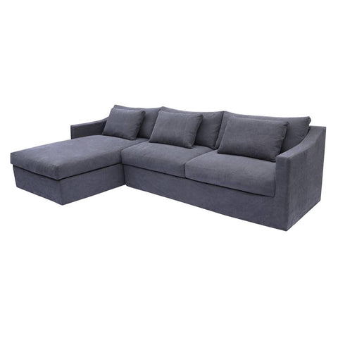 Monet Chaise Suite Charcoal