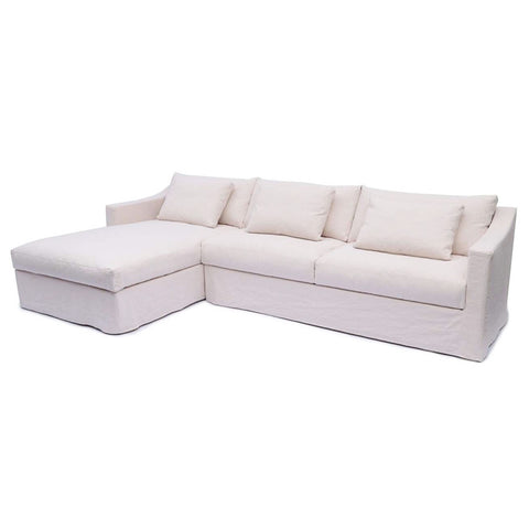 Monet Chaise Suite Ivory