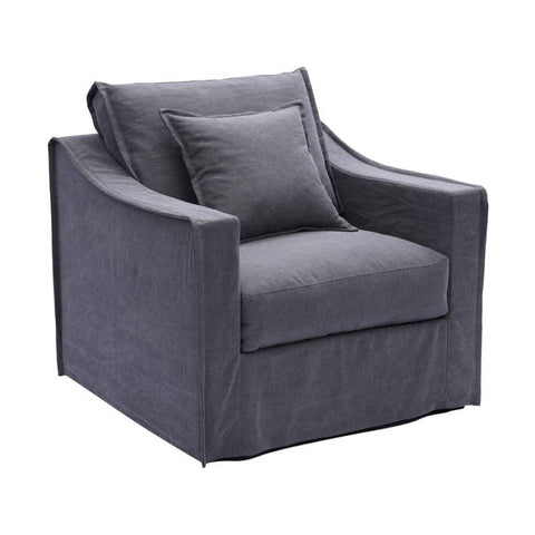 Monet 1 Seater Charcoal