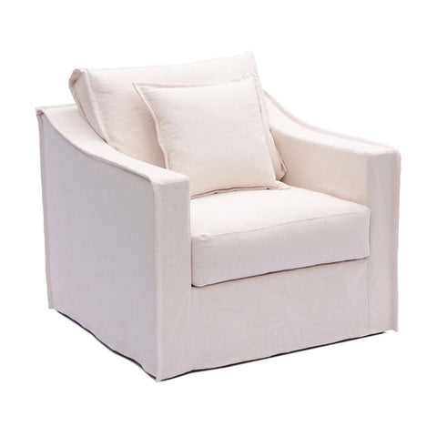 Monet 1 Seater Ivory