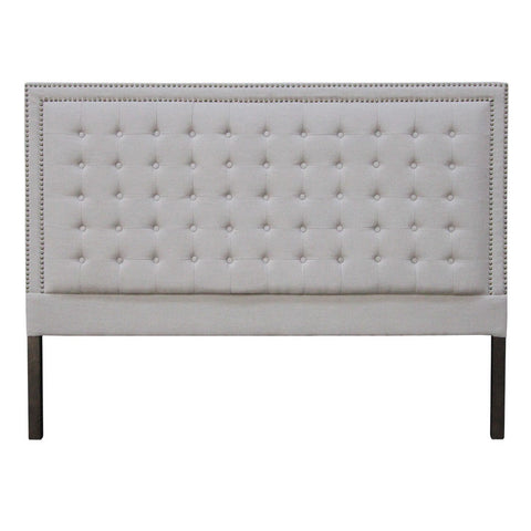 boston fabric headboard stone