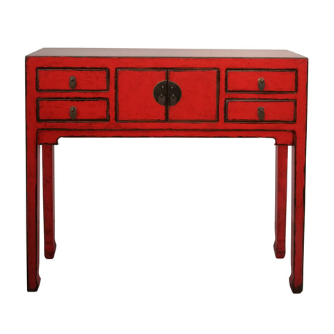 Oriental Console Red