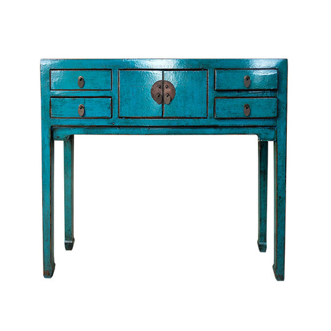 Oriental Console Turquoise