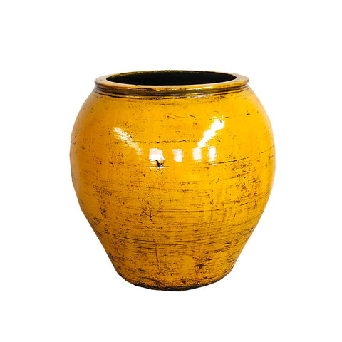 Oriental Painted Pot
