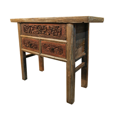 Oriental Console 2 Drawers