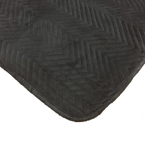 Velvet Ebony Throw