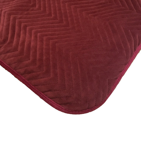 Velvet Raspberry Throw