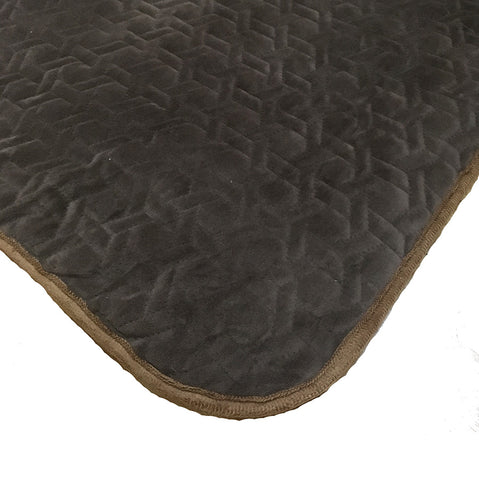 Velvet Chocolate Throw