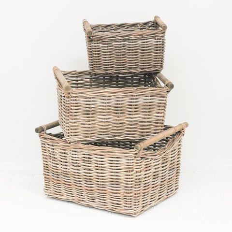 kubu handle basket 3 sizes