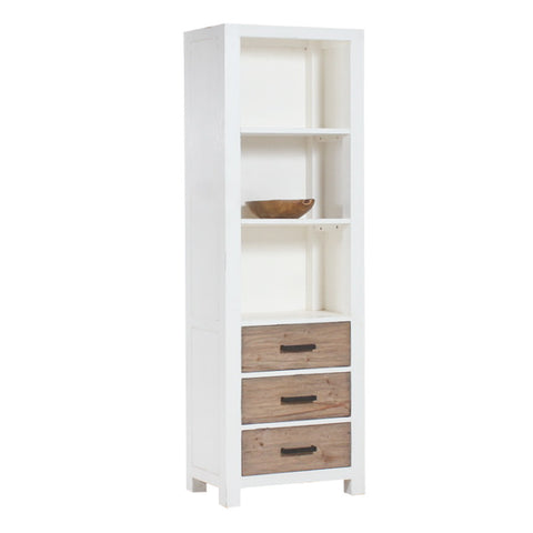 Lisbon Bookcase 3 Drawers
