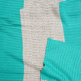 turquoise-rib-cotton-throw
