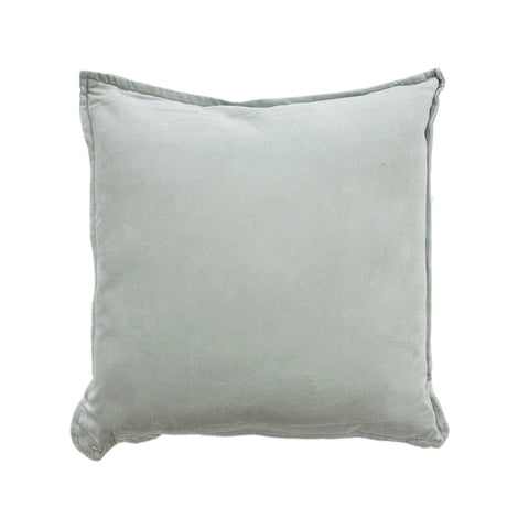 Velvet Duck Egg Cushion