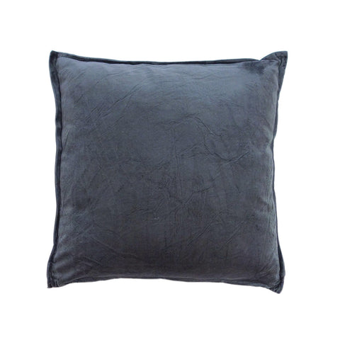 Velvet Pewter Cushion