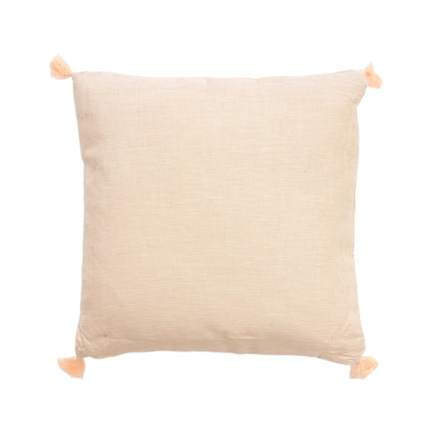 Tassle Blush Cushion