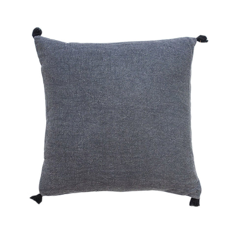 Tassle Pewter Cushion