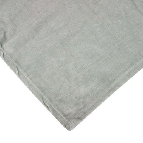 Large Velvet Bedspread Duck Egg