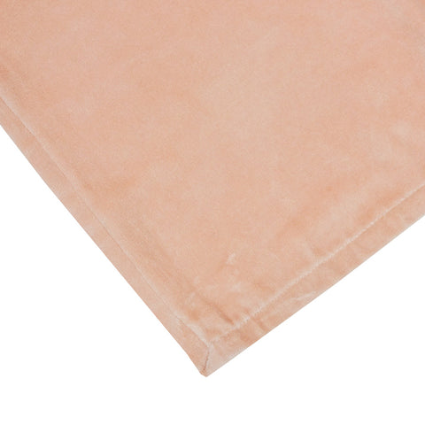 Large Bedspread Throw Blush