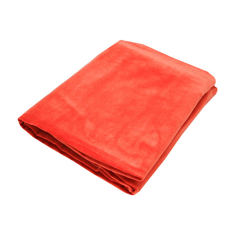 Small Velvet Bedspread Throw Watermelon