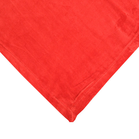Large Velvet Bedspread Watermelon
