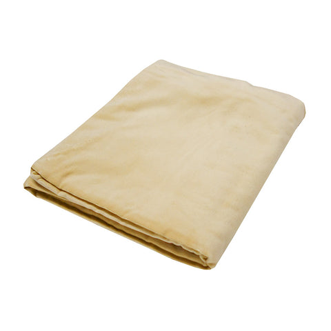 Small Velvet Bedspread Throw Wheat