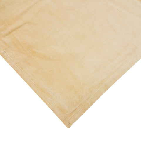 Large Velvet Bedspread Wheat