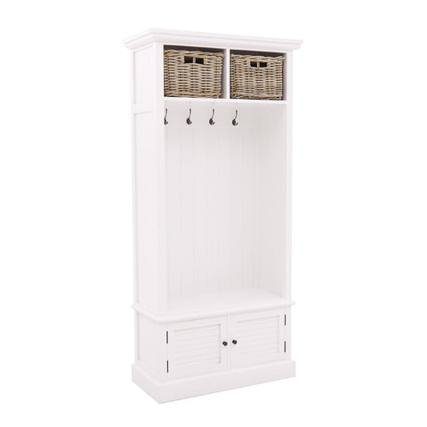 Hampton Coat and Storage Cabinet