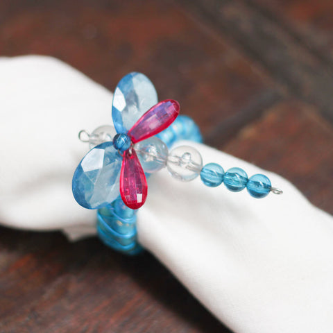 blue dragonfly set of 6
