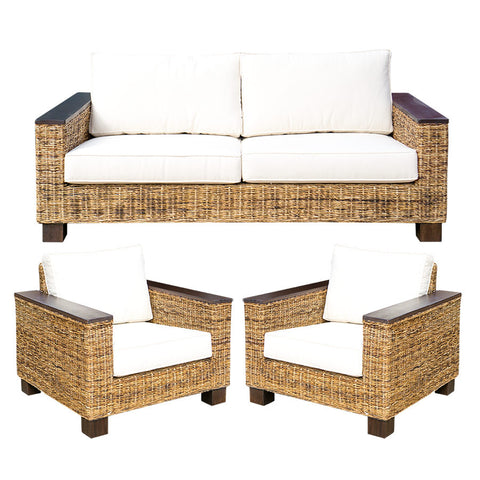 3 Piece Suite Abaca