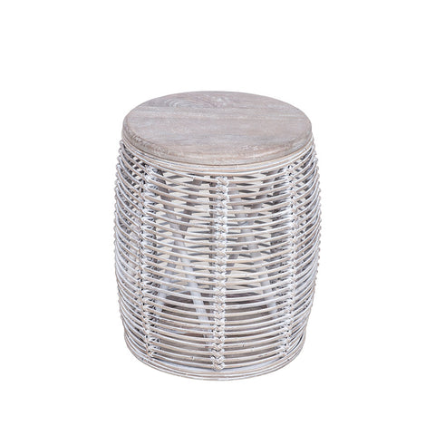 Bungalow Side Table Grey