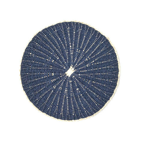 Two Tone Placemat Blue