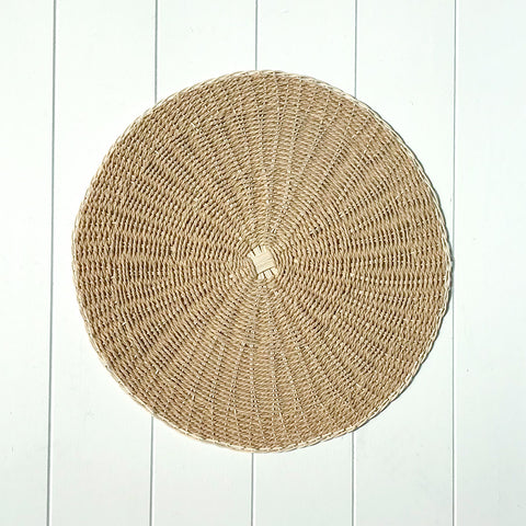 Two Tone Placemat Natural
