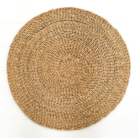 Round Rattan Placemat Large