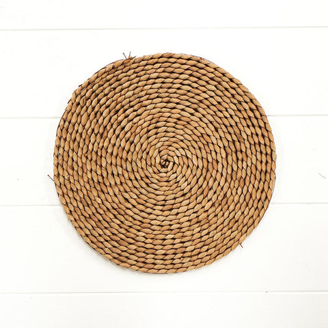 Round Rattan Placemat Small