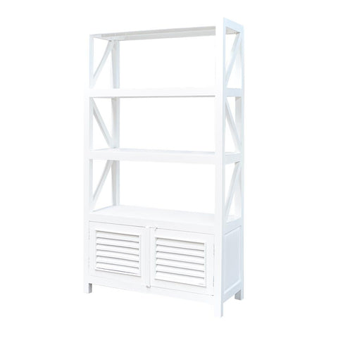 rustic-bookcase-2-doors-whitewash
