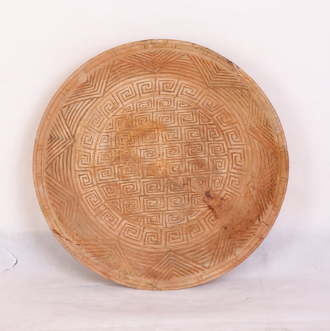 Batik Bowl Wall Art Natural